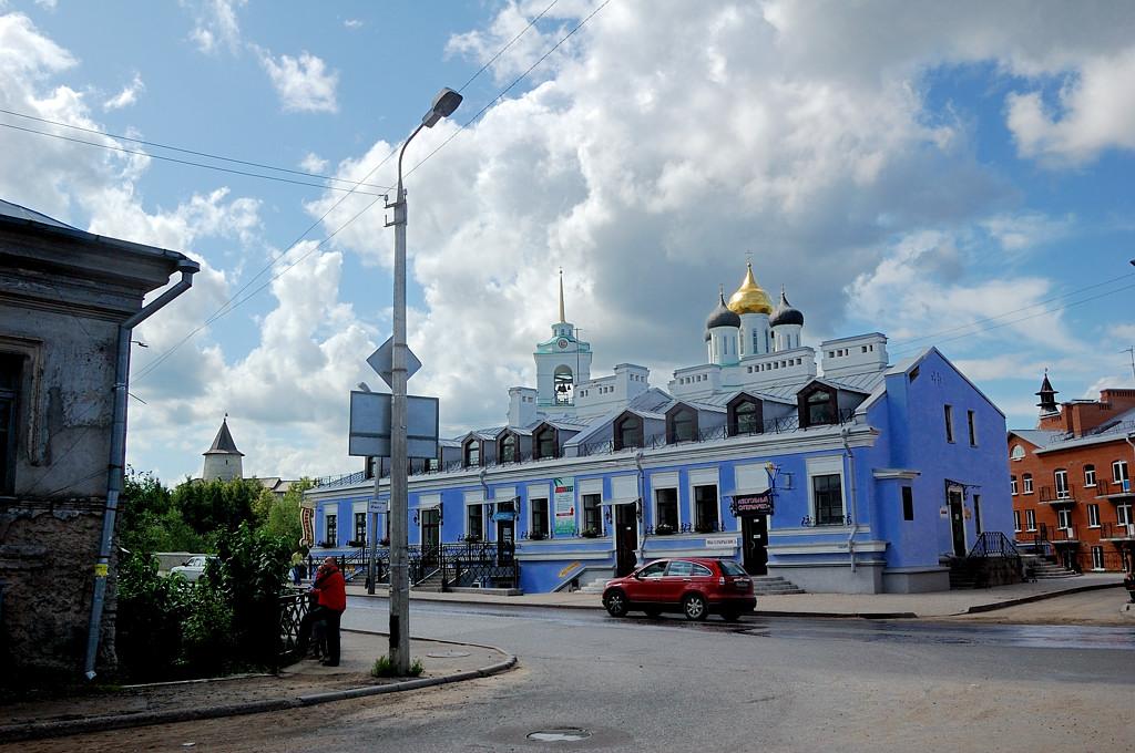 Перекресток ул. Труда и ул. Герцена