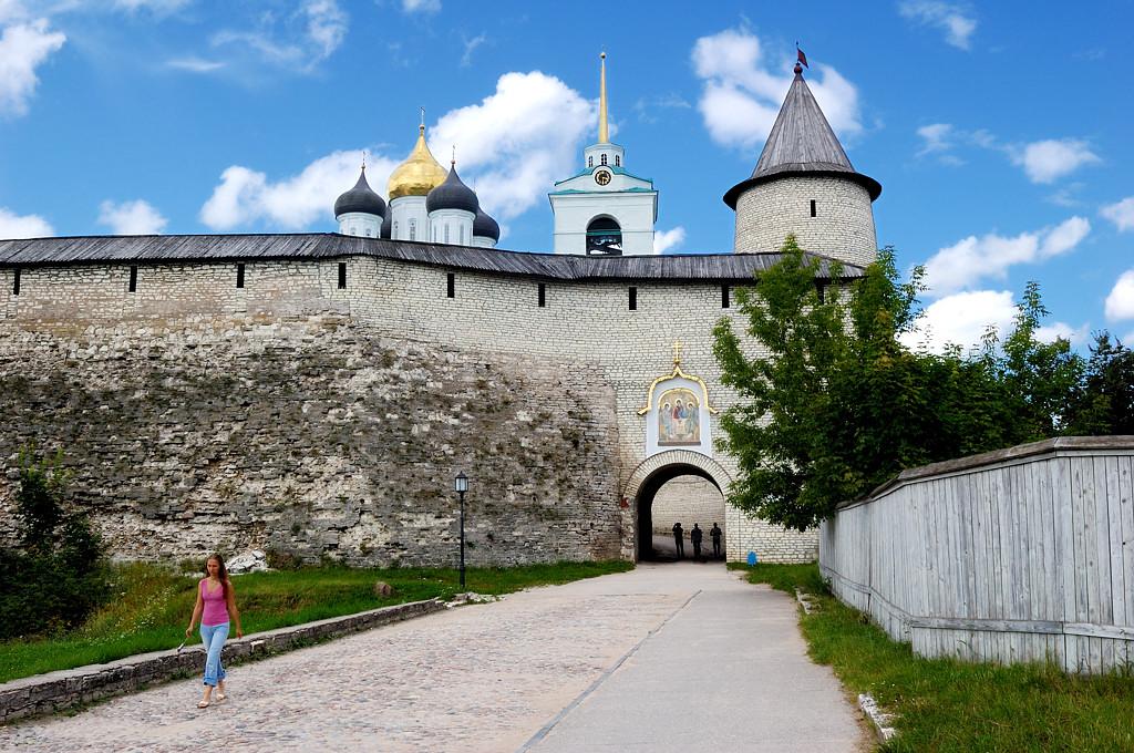 В Псковском Кремле