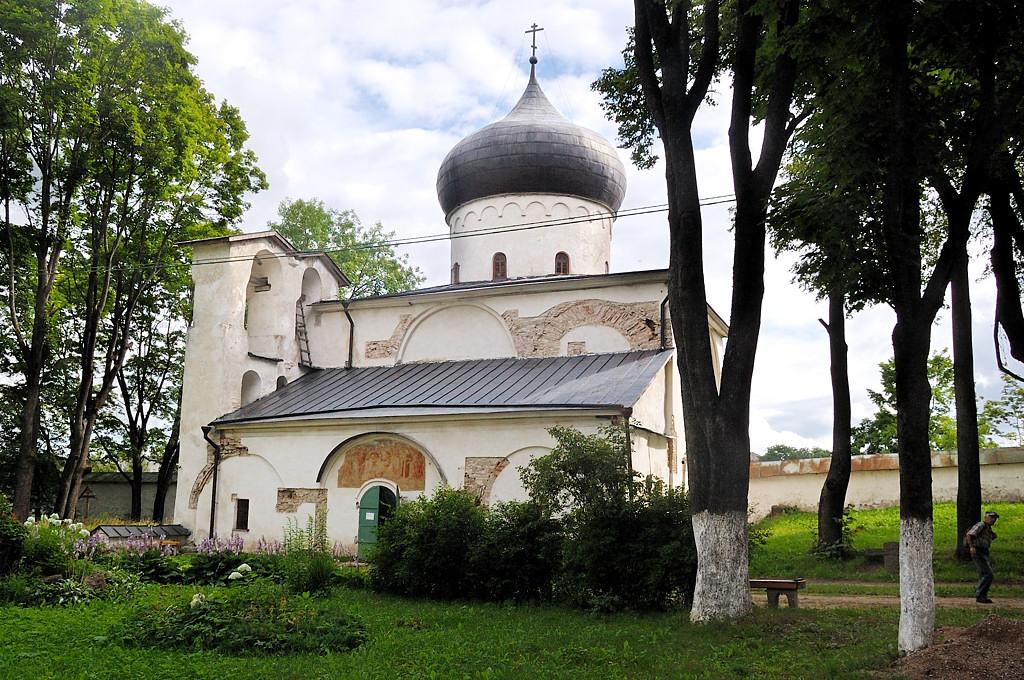 Мирожский монастырь. Спасо-Преображенский собор