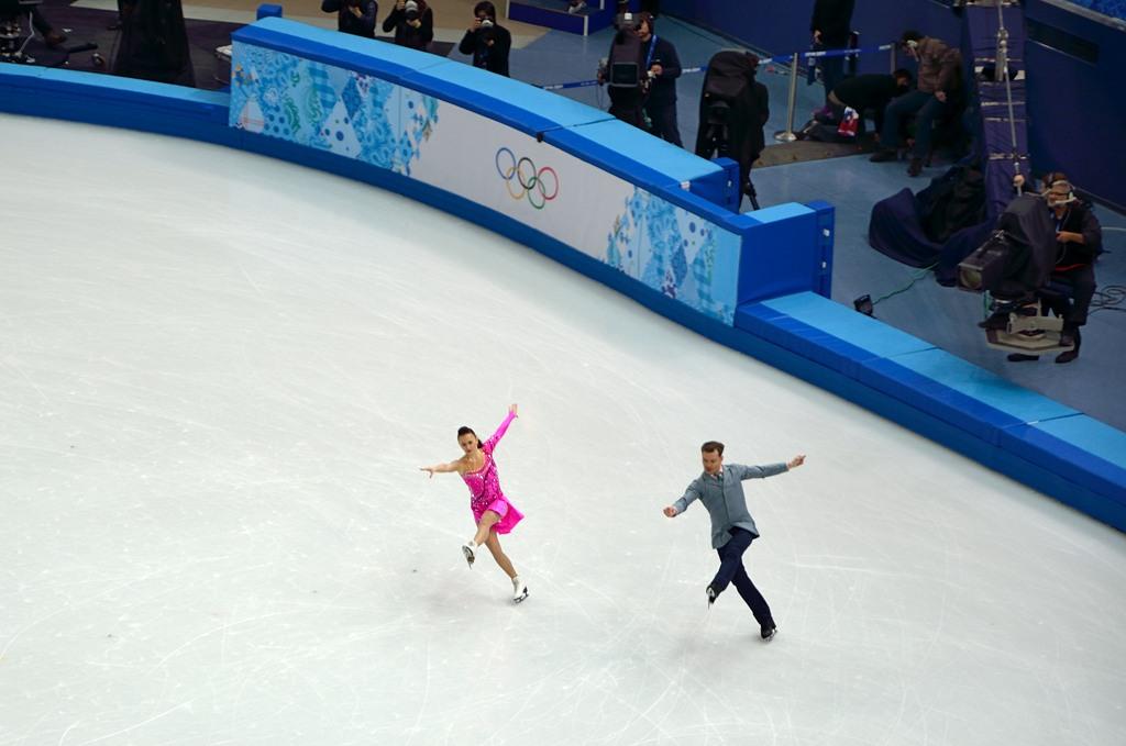 В этот день танцевальные пары выступали с короткой программой