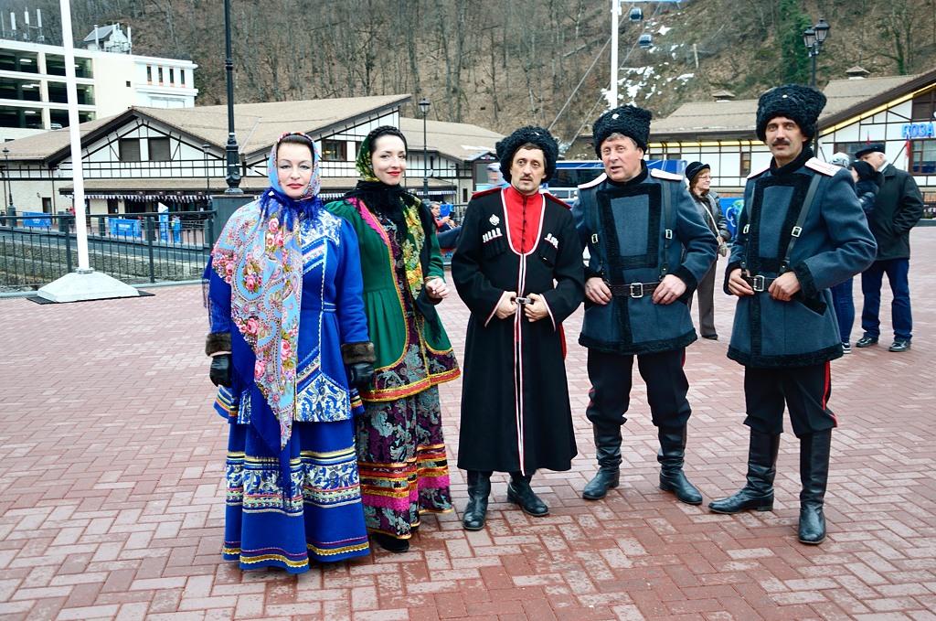 Тут казаки сразу и мужского, и женского пола :)
