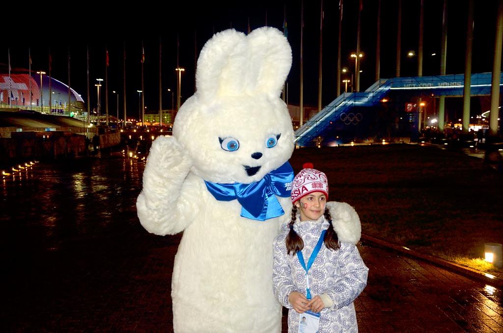 Олимпийский Зайка :)
