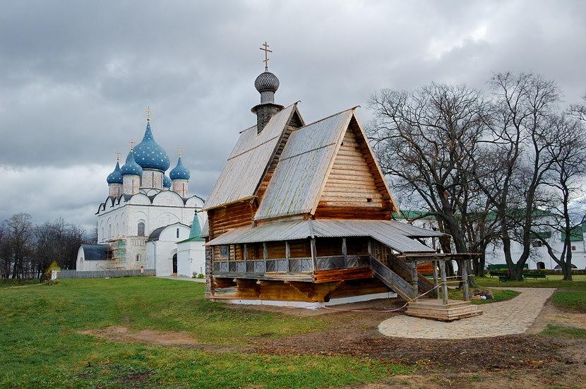 Кремль. Никольская церковь из села Глотово
