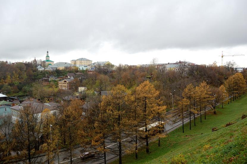 Вид от памятника князю Владимиру