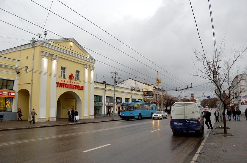 На главной улице Владимира
