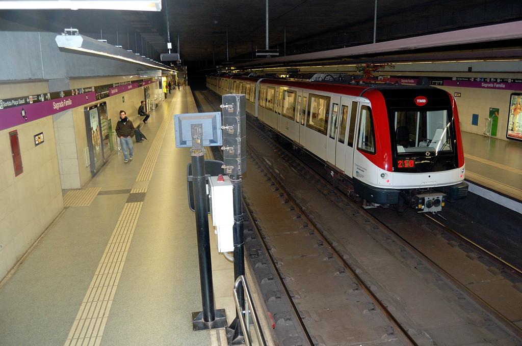 В Барселонском метро