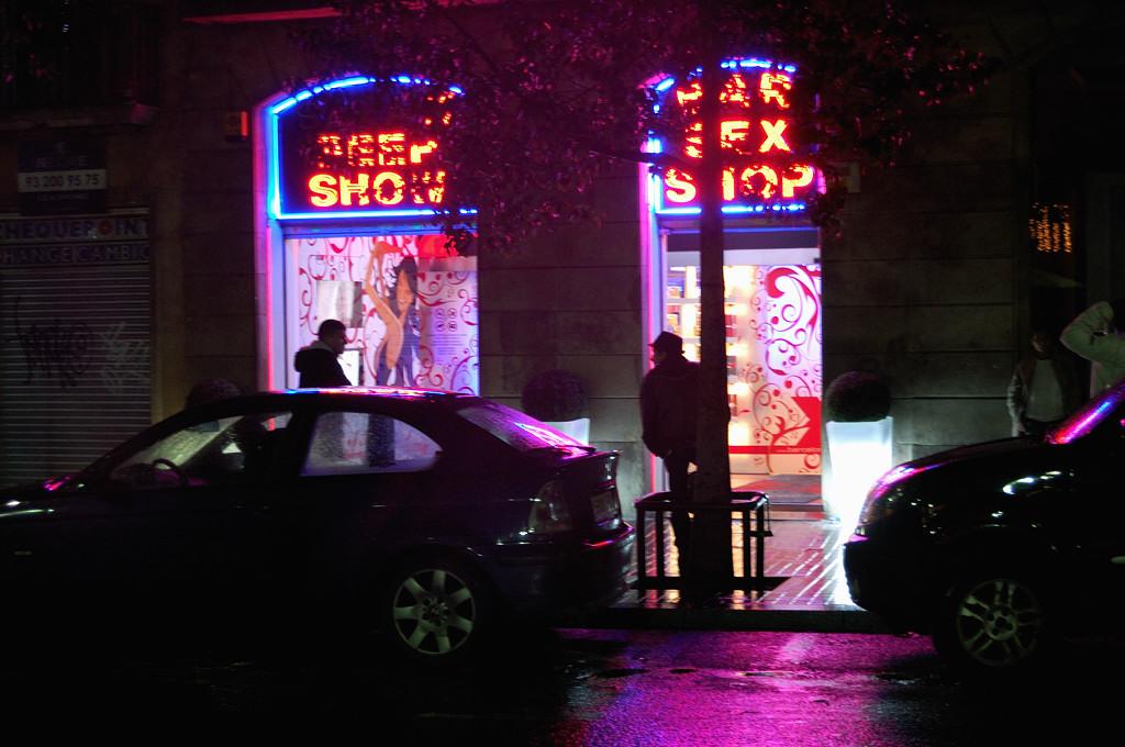 Ночью на Ла Рамбла