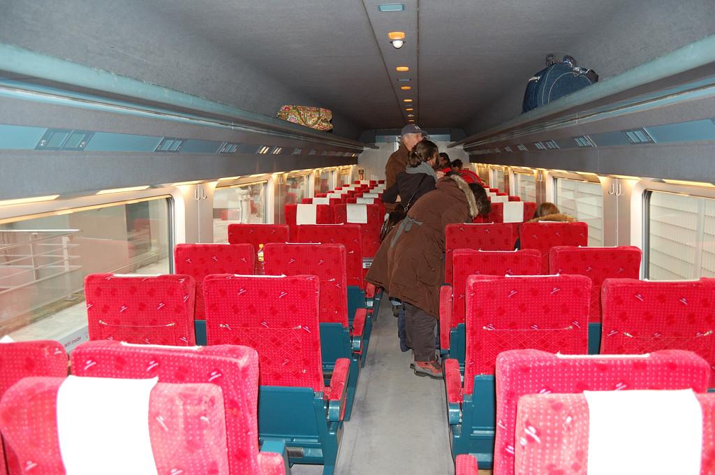 В вагоне Thalys