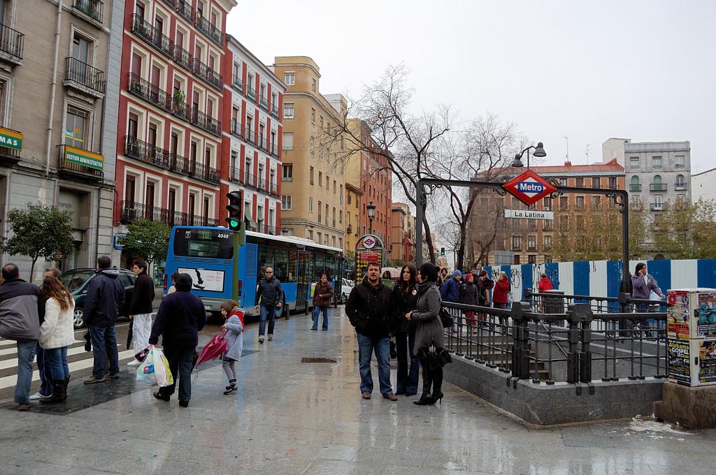 На улицах Мадрида