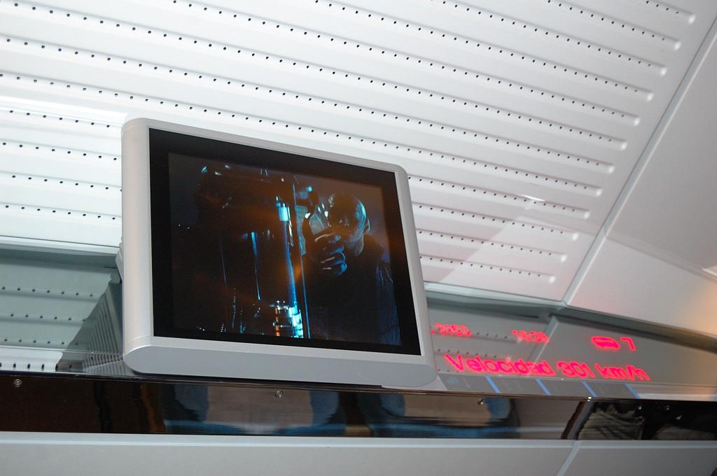 Поезд AVE развил максимальную скорость - 300 км/ч