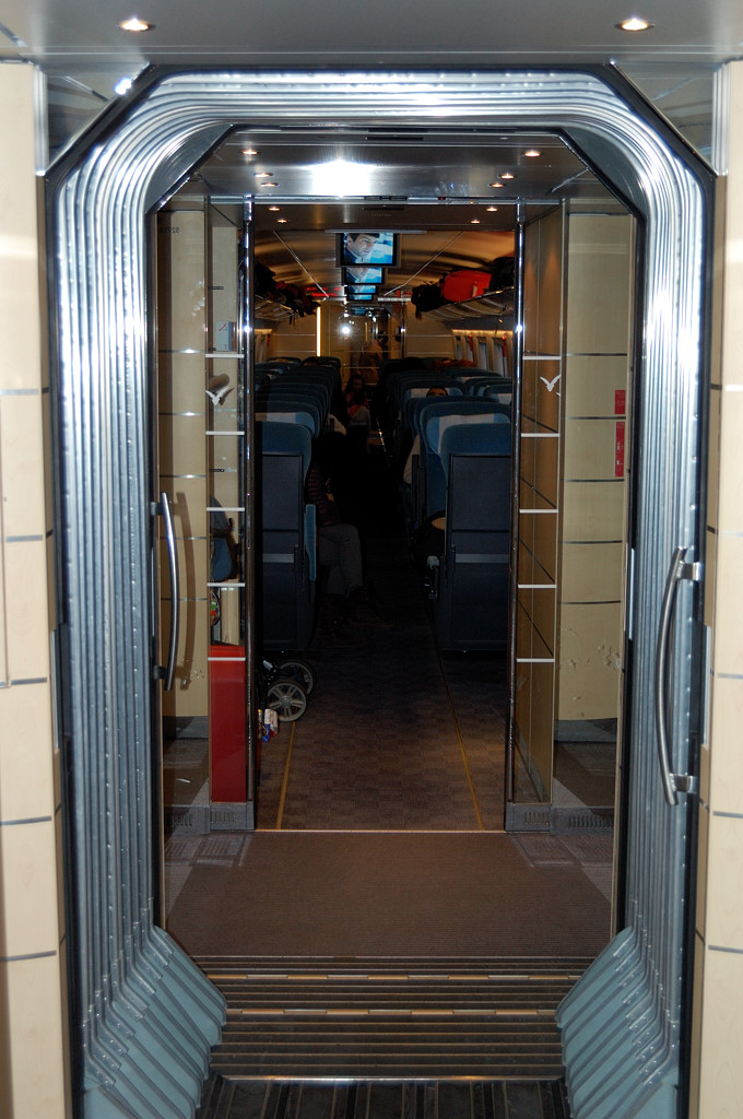 В поезде AVE