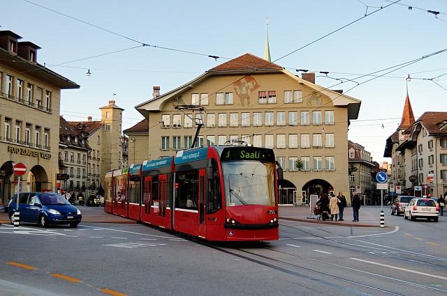 Трамвайчик на площади казиноплац