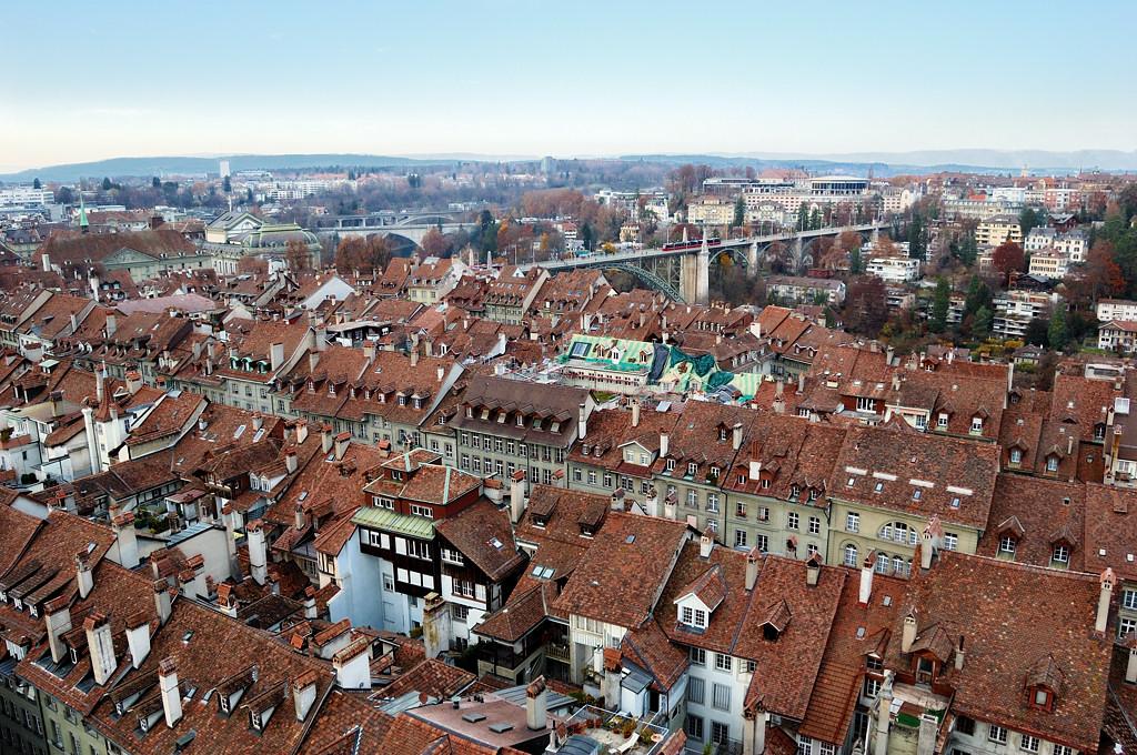 Вид с Мюнстера на старый город