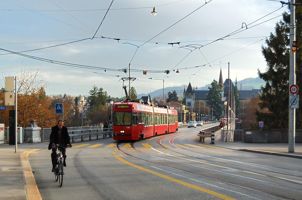 У моста Кирхенфельдбрюкке