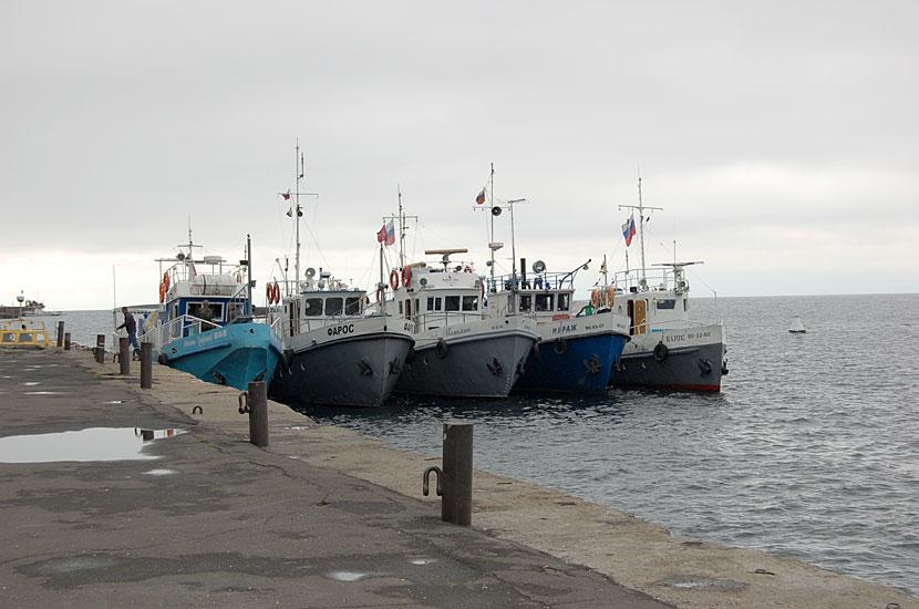Пристань в Листвянке