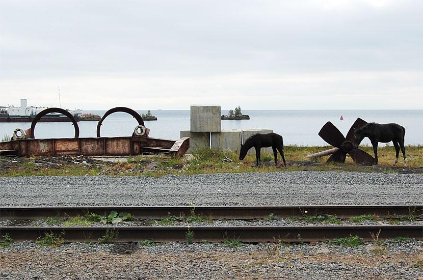 Порт Байкал. Разруха