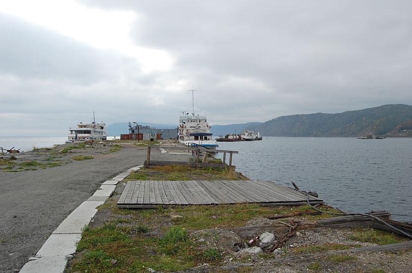 Порт Байкал. Причал