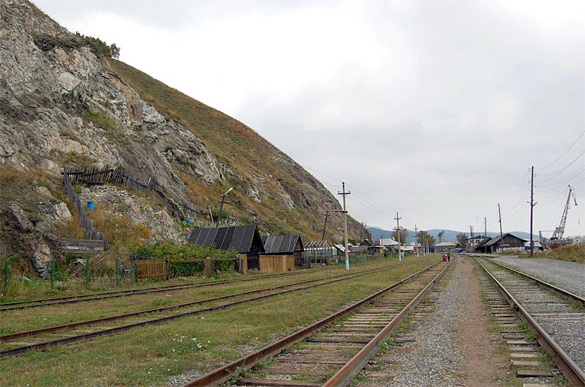 Порт Байкал. Раньше здесь проходил Транссиб