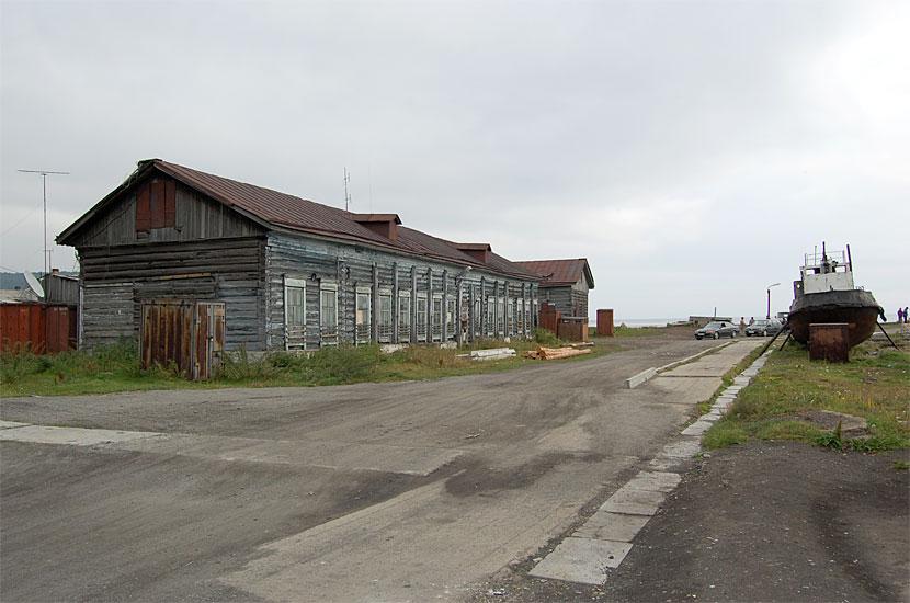 Порт Байкал. У причала