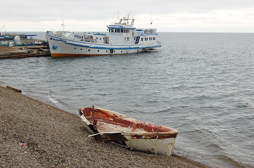Листвянка. На берегу Байкала