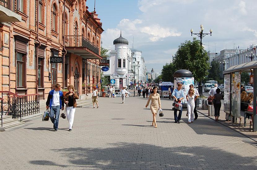 На улице Муравьева-Амурского