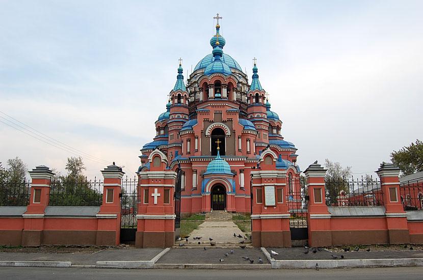 Бывшая Казанская церковь, 1892 (почему бывшая - не знаю, так написано на карте)