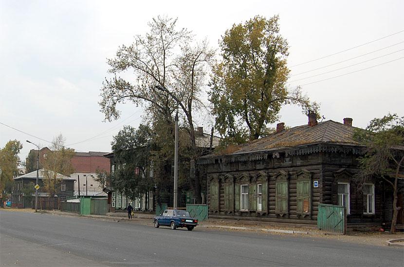 Типичная иркутская архитектура