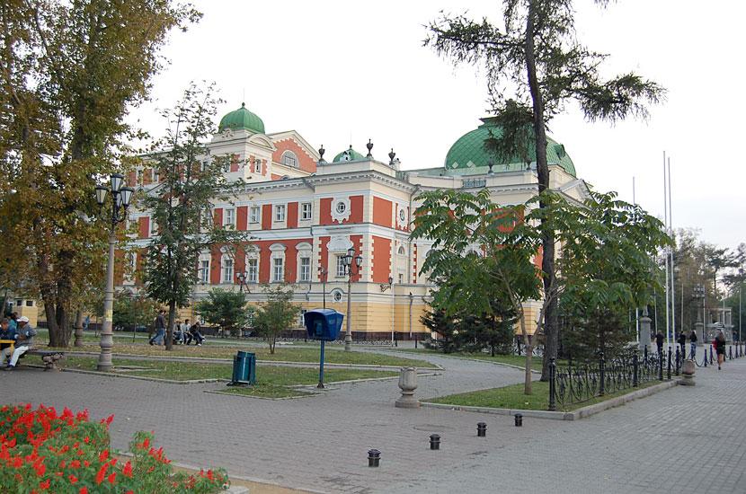 Областной драматический театр, 1897