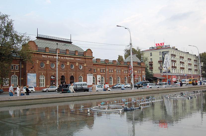 Театра юного зрителя им. А.Вампилова (бывшее здание Общественного собрания, 1891)
