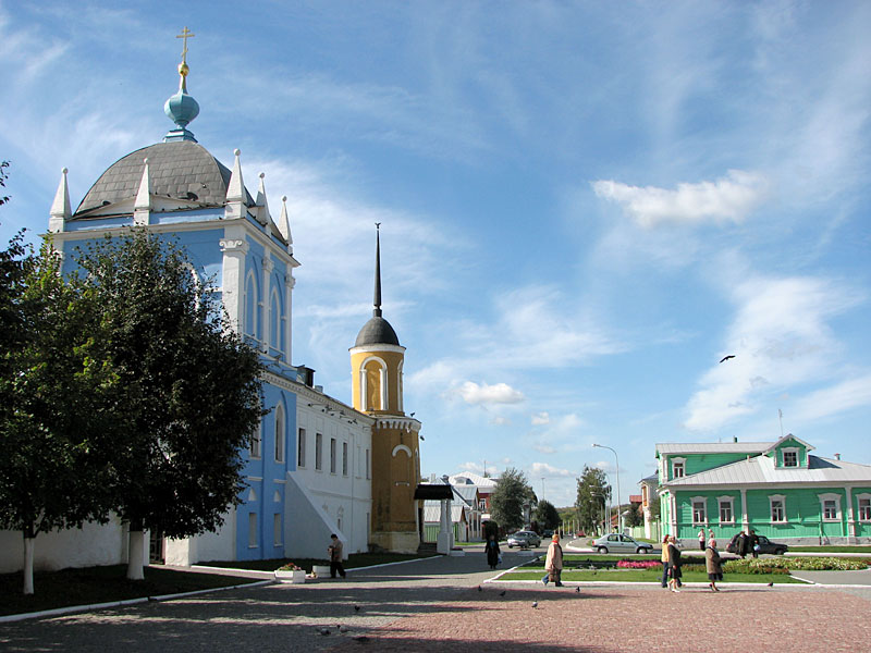 На Соборной площади в Кремле