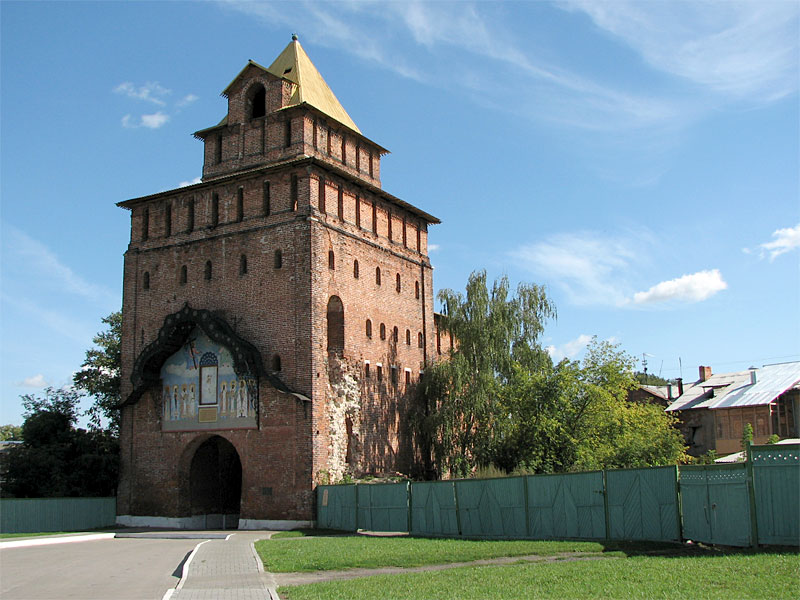 Пятницкая башня (ворота), 16-й век