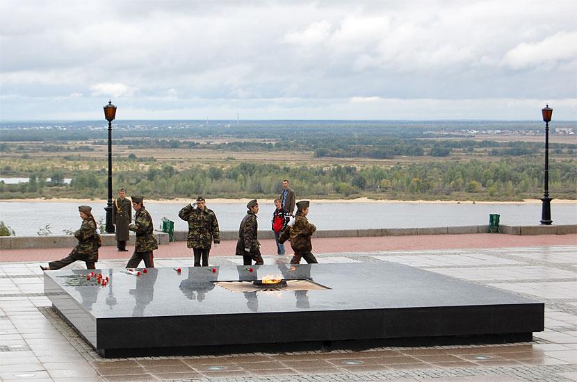 Мемориал Великой Отечественной Войны в Кремле. Пост №1