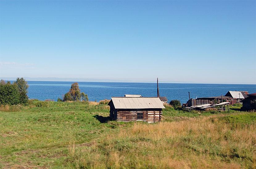 Иркутская область. Берег Байкала