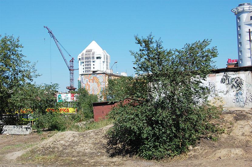 Бурятия, Улан-Удэ. Не только в Москве возводятся навороченные жилые комплексы