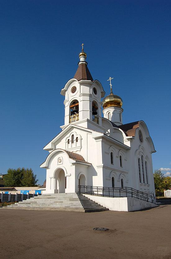 Церковь в Улан-Удэ