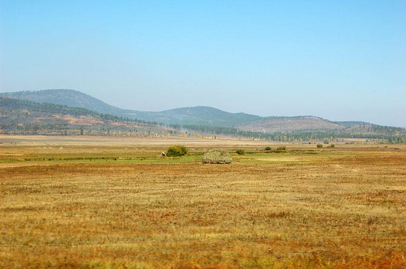 Дорога домой. Где-то на западе Амурской области