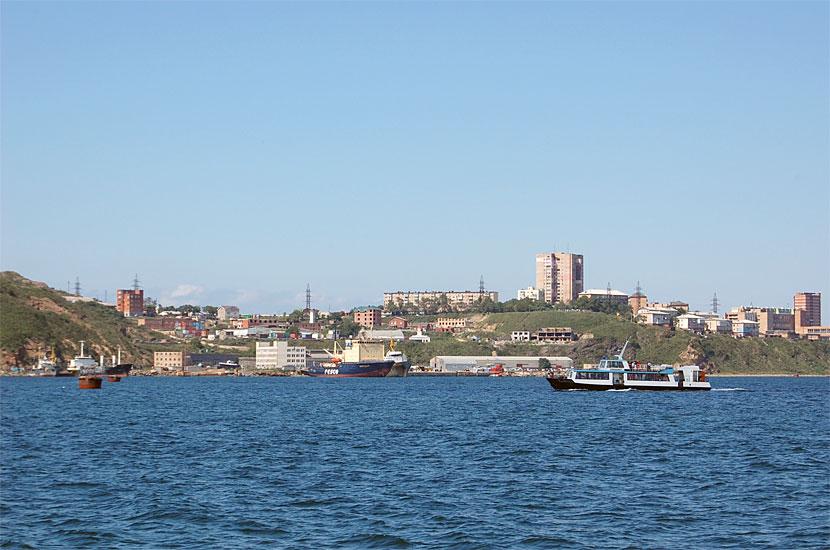 Вид на город в районе Эгершельд