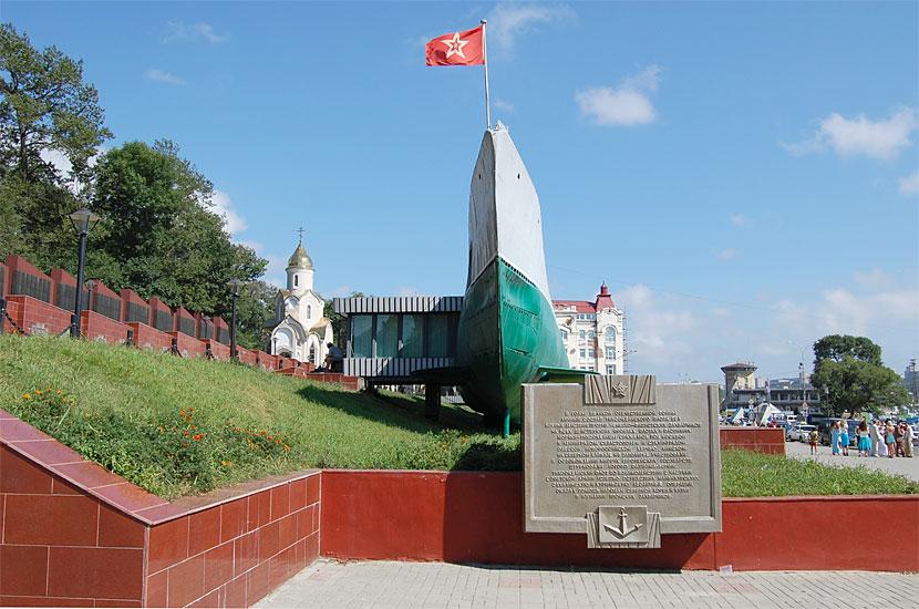 Мемориальная подлодка С-56