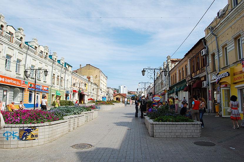 Улица адмирала Фокина - владивостокский Арбат