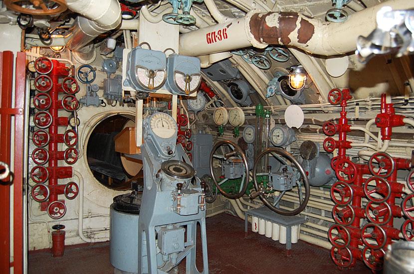 Интерьер подводной лодки С-56