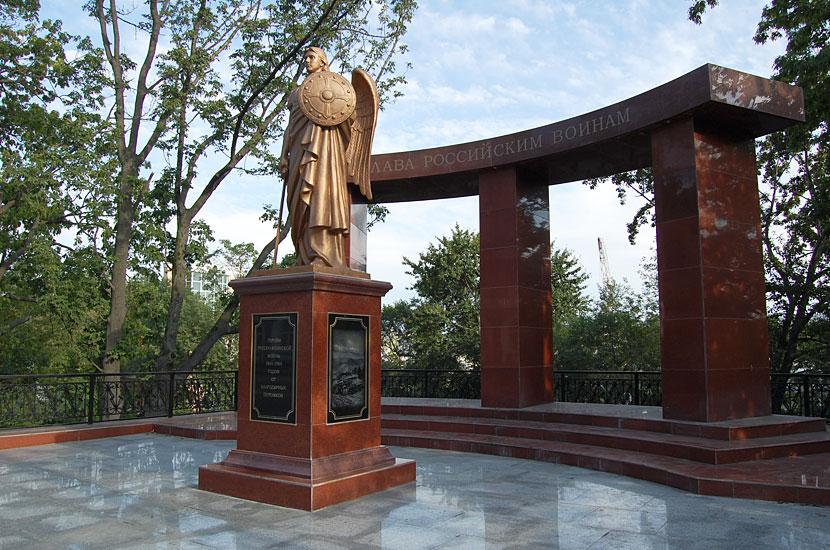 Памятник погибшим в Русско-Японской войне