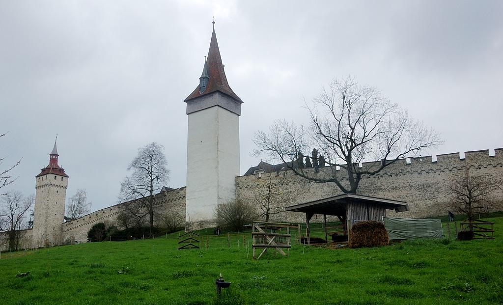Башни Heu и Luegisland