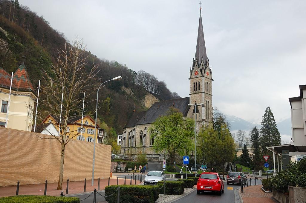Церковь в центре Вадуца